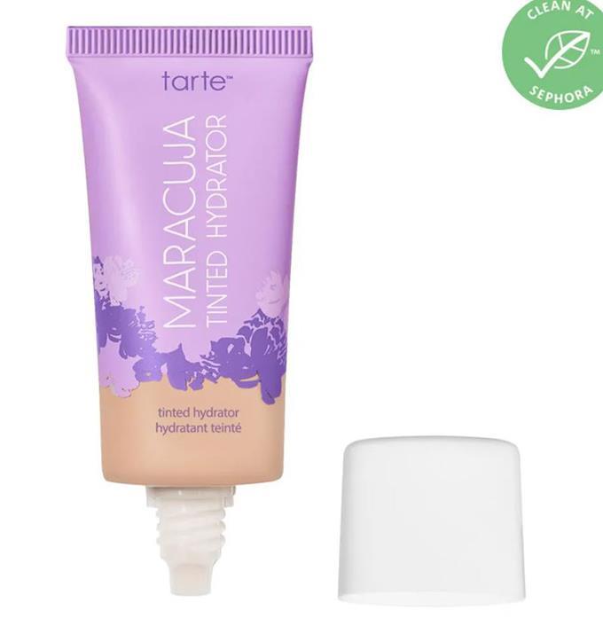 "$46.00 from [Sephora.](https://www.sephora.com.au/products/tarte-maracuja-tinted-hydrator/v/10n-fair-neutral|target=""_blank"")"