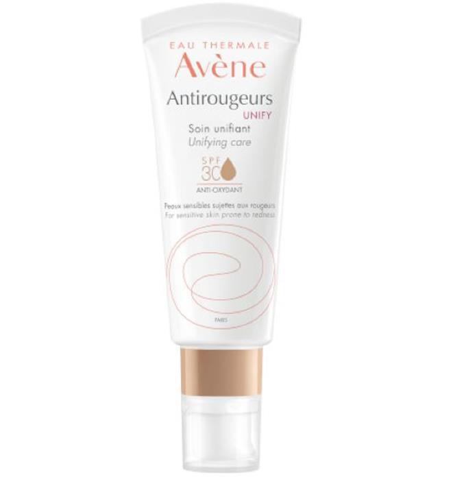 "$41.99 from [Adore Beauty.](https://www.adorebeauty.com.au/avene/avene-antirougeurs-unify-spf30-40ml.html|target=""_blank"")"