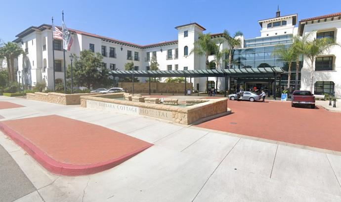 Meghan gave birth at Santa Barbara Cottage Hospital.