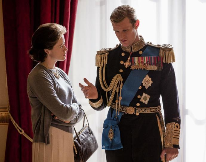 The name Lilibet is used multiple times on *The Crown*.
