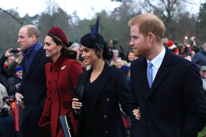 The Duke and Duchess' choice in name reflects their continued love and admiration for the royal family.