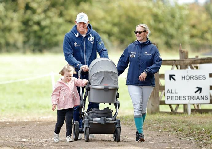 Zara and Mike Tindall welcomed their third child, a son named Lucas, in March this year.