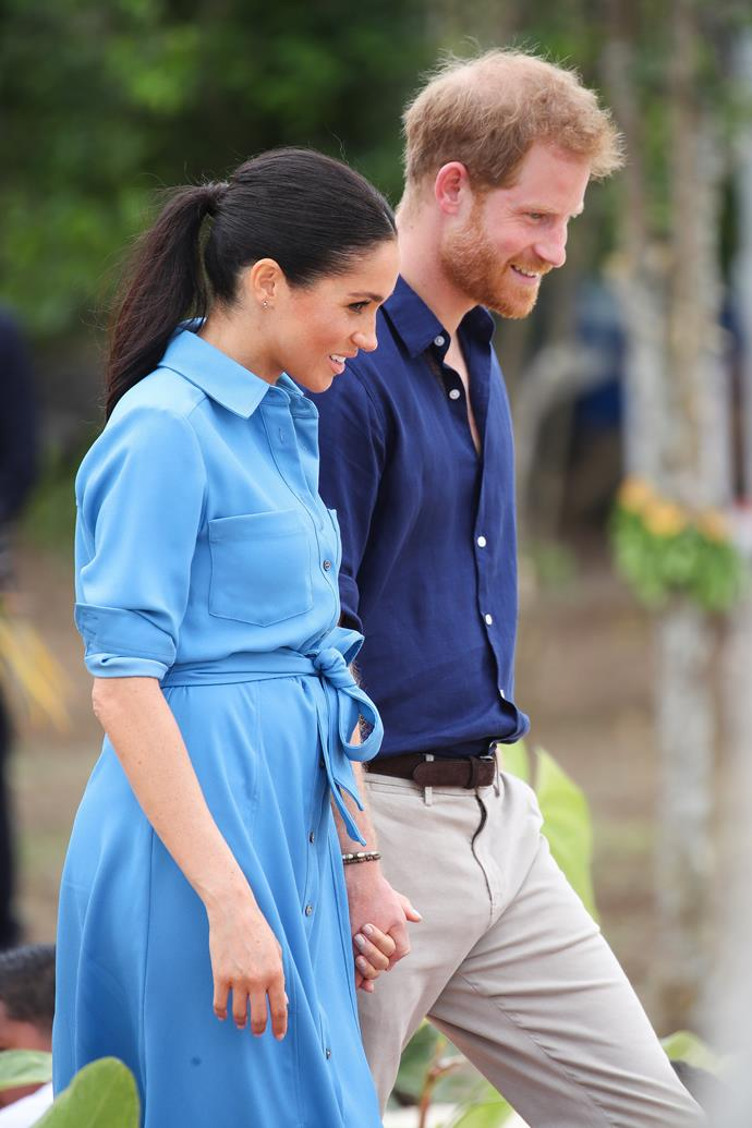 Prince Harry and Duchess Meghan showed their admiration for The Queen by naming their daughter after her.