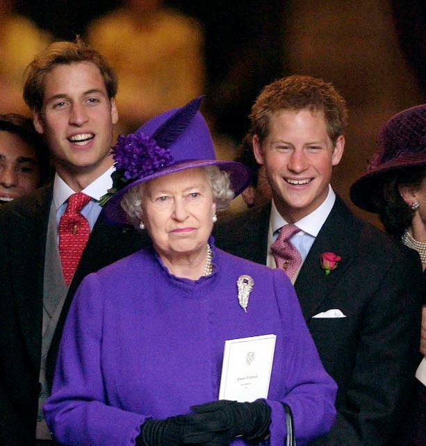 Granny's blessing: Harry has always held his grandmother in high esteem.