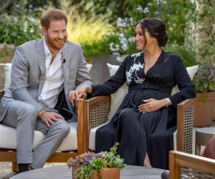 Meghan Markle when she was pregnant with Lilibet Diana.