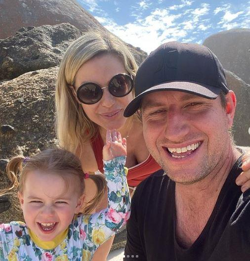 Mark has been with Marie since 2016 and the couple are already the proud parents to a three-year-old daughter called Stevie.