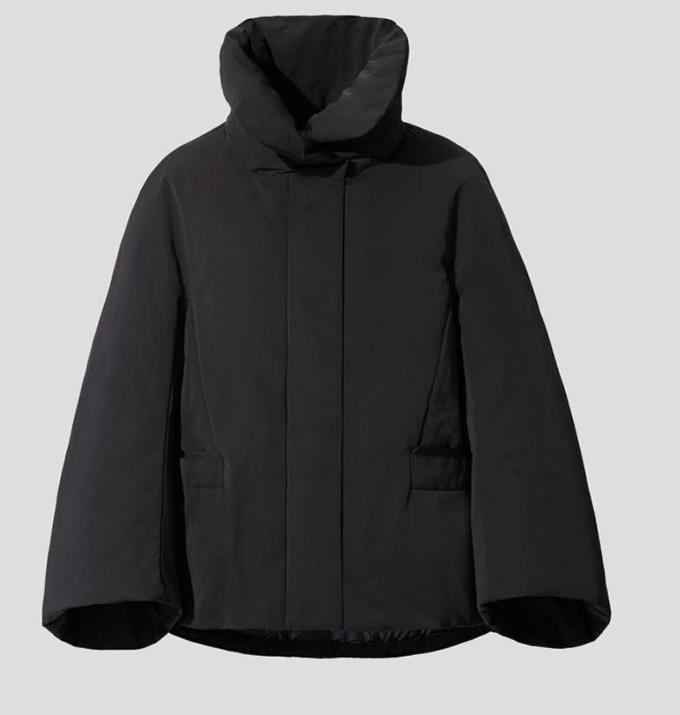 """Woman + J Hybrid Down Jacket, $149.00 from [Uniqlo.](https://www.uniqlo.com/au/en/products/E432604-000?colorCode=COL09