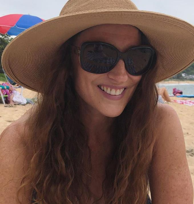 **Georgie Parker** <br><br> The iconic *Home and Away* star, who plays Roo Stewart, is 56.