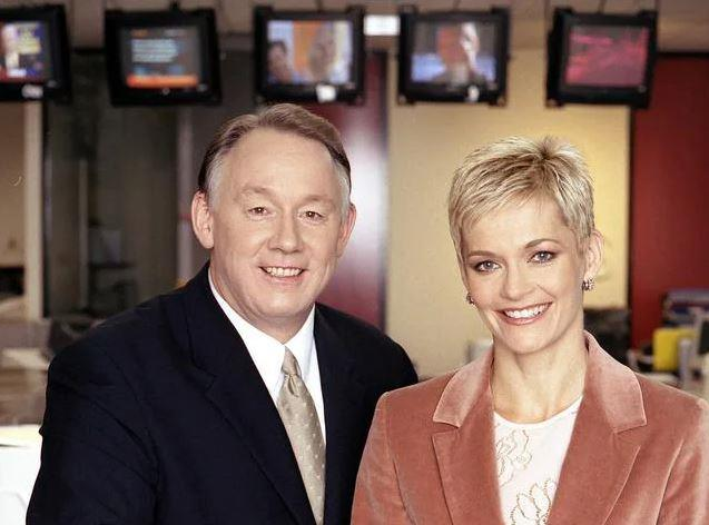 Jess and Ron read the news in the early 2000.