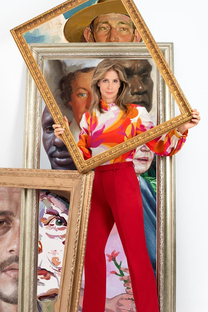 Rachel is the host of the new ABC show *Finding The Archibald*.