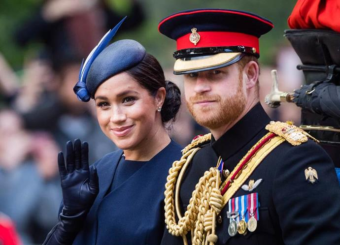 Of course, the same year marked a very exciting appearance from Duchess Meghan, who had just given birth to her son, Archie.