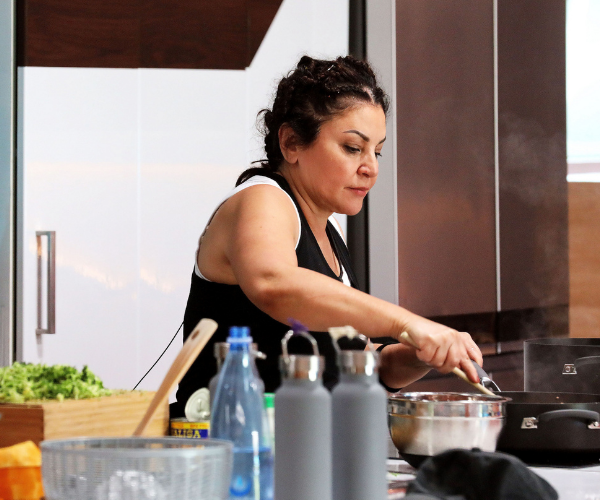 Mary has some serious skills in the kitchen but her prowess frightened some of the other housemates off!