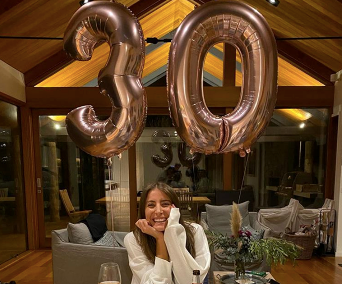 """And then there were milestones of the birthday kind. [Bec celebrated her 30th birthday](https://www.nowtolove.com.au/celebrity/celeb-news/andy-lee-bec-harding-engagement-rumours-63976