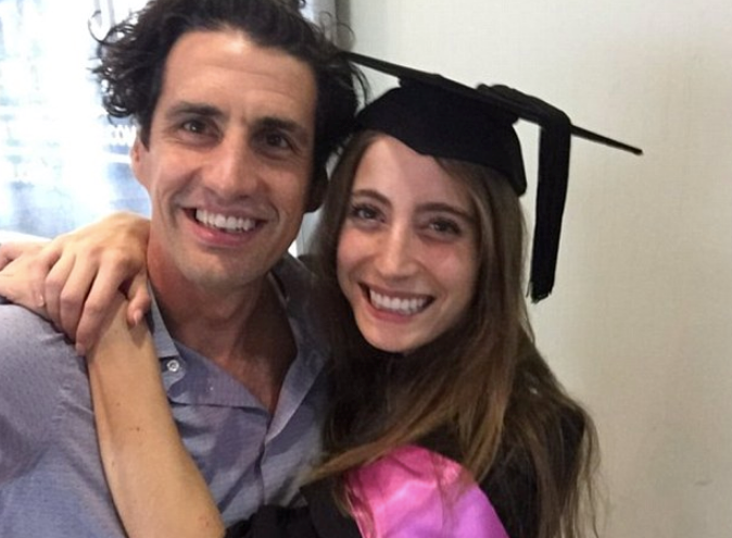 """Of course the couple have celebrated major milestones in front of their fans too - in 2015, Bec completed her second degree with a masters in communications. """"Proud of @rebeccalharding, getting her 2nd degree last night,"""" Andy wrote at the time, before cheekily adding: """"Two more than @hamishblake has for those counting."""""""