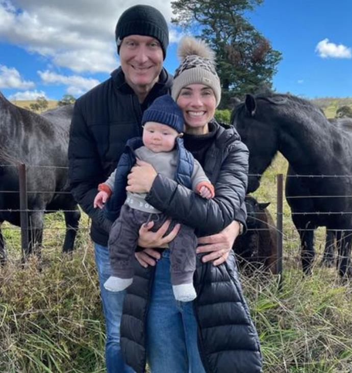 In May, the family enjoyed a cosy weekend away at Taralga in the Southern Tablelands of New South Wales.