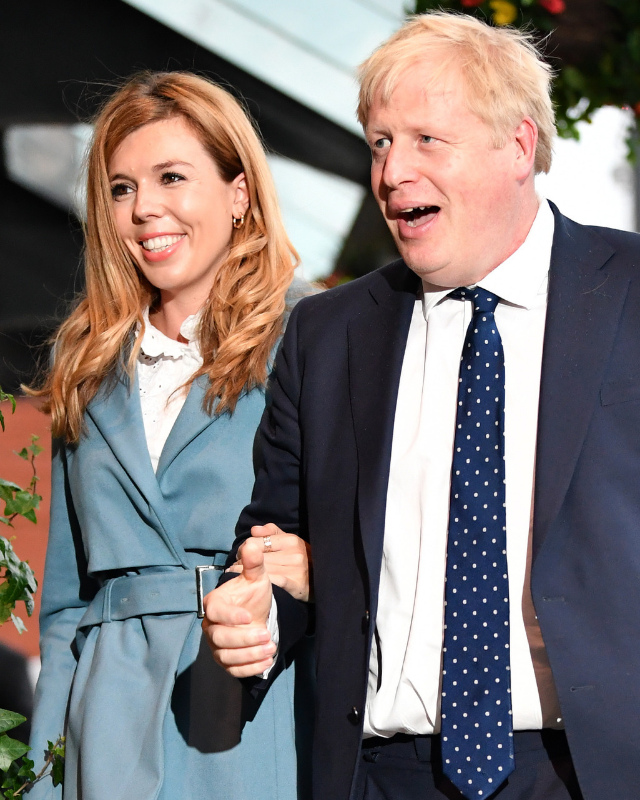 """**BORIS JOHNSON, 56, & CARRIE SYMONS, 33: 23 YEARS**  <br><br> With a new son and recent marriage under their belt, the [British PM and his wife](https://www.nowtolove.com.au/news/international-news/boris-johnson-fiancee-63391 target=""""_blank"""") seem as loved up as ever."""