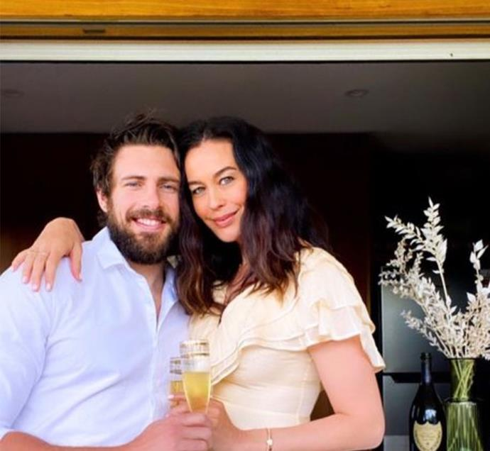 """**MEGAN GALE, 45, AND SHAUN HAMPSON, 33: 12 YEARS** <br><br> """"I was being called a cougar, he was being called a toyboy,"""" Megan reflects of the backlash she and Shaun received in the early days of their romance. """"I get tarred by a brush based on perception and I don't like that.""""  <br><br> The happy couple have well and truly proven their critics wrong! Not only are they engaged, they're also the proud parents to a son and a daughter."""