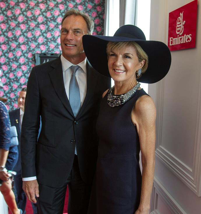The pair went public at the 2014 Melbourne Cup.