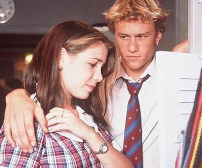 Kate Ritchie starred alongside the late Heath Ledger.