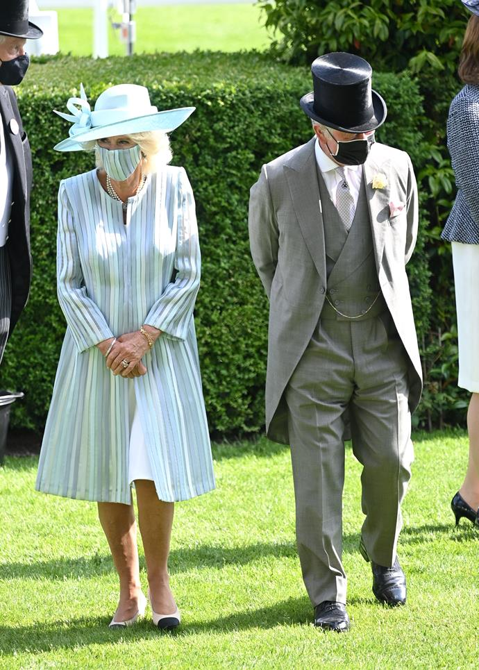 Prince Charles and Camilla flanked the royal appearances on day one with a top hat flourish. Bring on day two!
