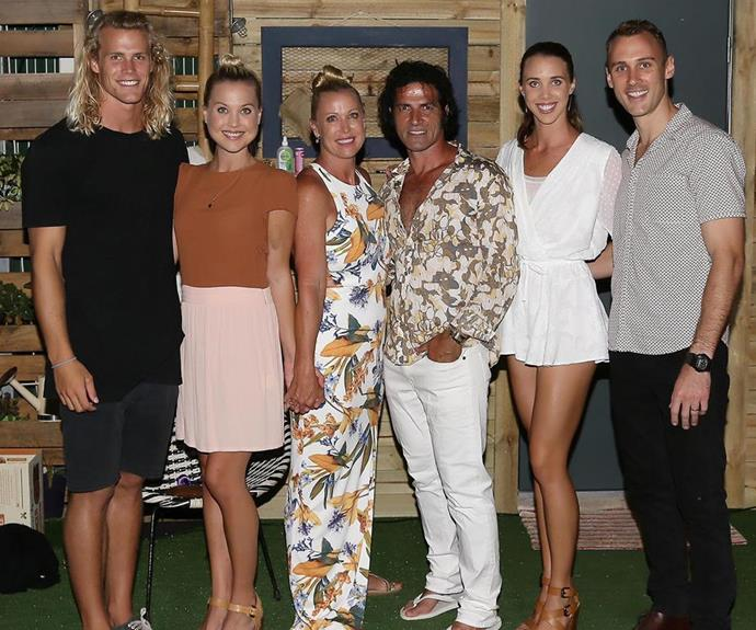 And Mark has slotted into Lisa's family seamlessly. Along with Jaimi, Lisa has two other children Jett and Morgan, who has two children herself.