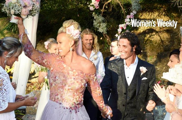 """And then came the wedding bells! On May 11 2018, [the pair made things official](https://www.nowtolove.com.au/celebrity/celeb-news/lisa-curry-mark-tabone-wedding-pictures-exclusive-48638