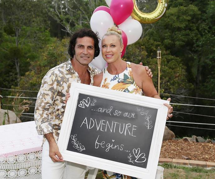 *Woman's Day* covered the wonderful BBQ engagement at the time, noting many of their loved ones in attendance.