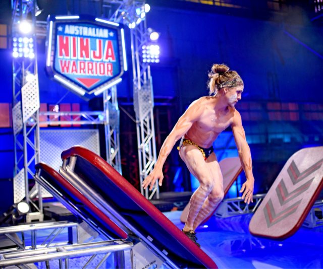"""**Jack Wilson** <br><br> It's been a long road for the 28-year-old. After impressing in the first three seasons of Australian Ninja Warrior, Jack fractured his L3 vertebra while cliff-jumping in Bali. The Indigenous """"Deadly Ninja"""" was unable to compete in season four, but is back stronger and more focused than ever."""