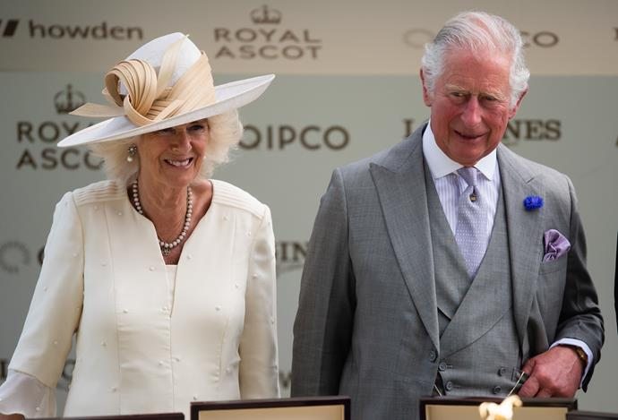 Prince Charles and Camilla looked prim and proper for the second day running, with Camilla's beautiful cream ensemble bringing perfect spring vibes.
