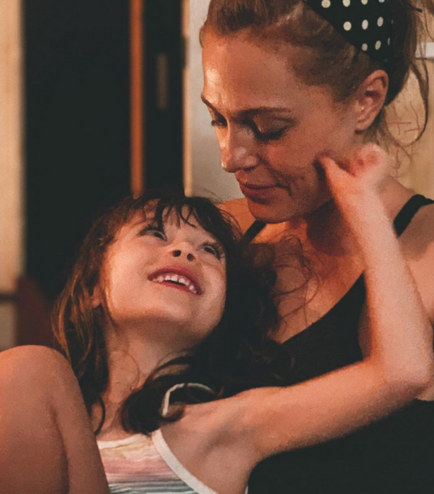 Ella and daughter Ziggy.