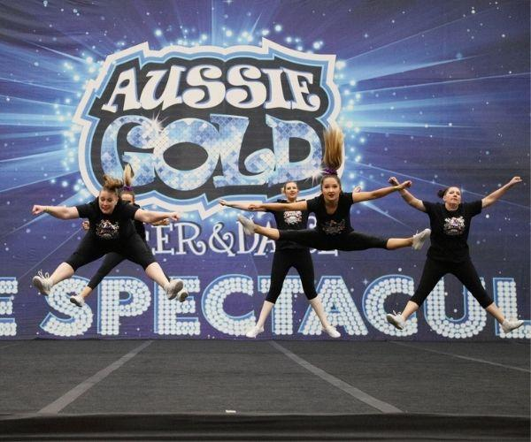 At the Aussie Gold Cheer & Dance State Spectacular Competition in 2019.