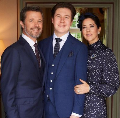 The Danish royals are a tight knit family.