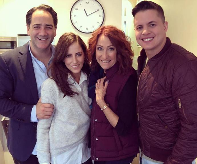Lynne and Johnny catch up with Wippa and his wife, Lisa.