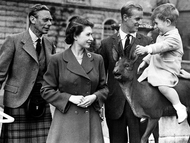 The royals shared a special snap of Elizabeth and her family from 1951.