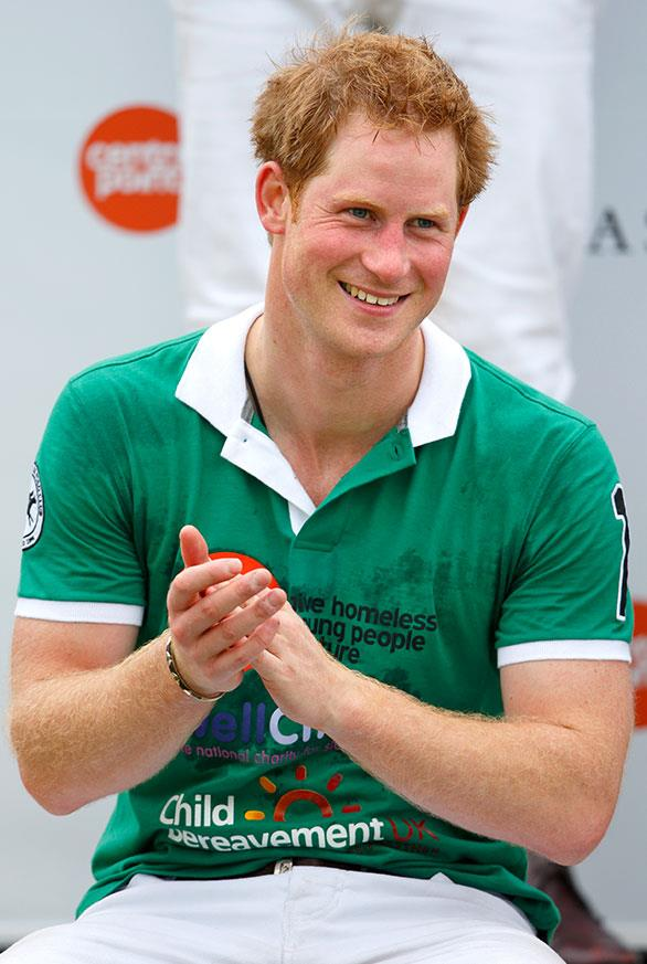Despite retiring from the British Army in 2014, the 36-year-old had maintained his health and fitness with regular gym sessions and polo matches.