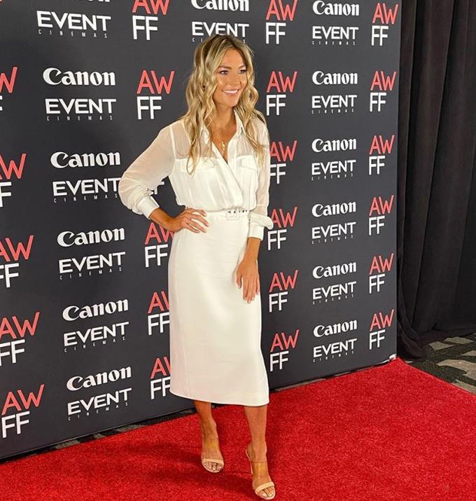 Sam at the Australian Women's Film Festival.