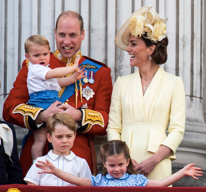 The Palace shared this sweet photo of William to celebrate his 39th birthday.