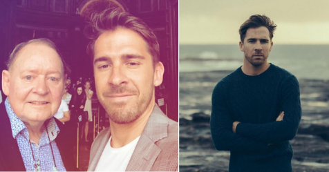 Hugh Sheridan pens emotional tribute to his late dad on Father's Day