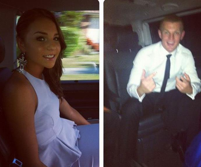 The most 2012 Instagram post we ever saw! These photos are from the couple's first time attending the Dally M Awards.