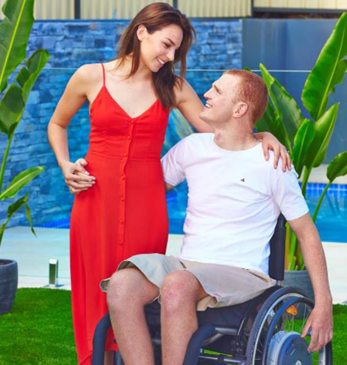 """Speaking with *[Woman's Day](https://www.nowtolove.com.au/celebrity/celeb-news/alex-mckinnon-pays-tribute-to-the-woman-whos-cared-for-him-most-24334 target=""""_blank"""")* a then 24-year-old Alex credited Teigan for helping his mental health, """"If it wasn't for Teigan I wouldn't be in as good a place as I am mentally."""""""