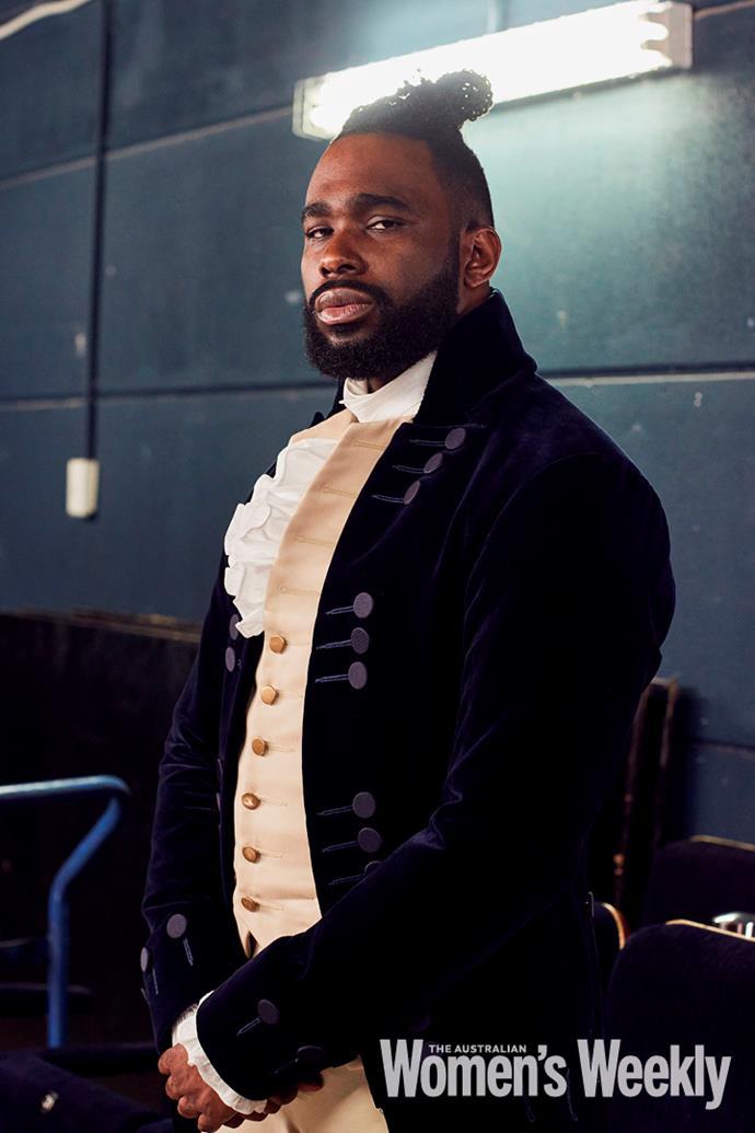 Victory Ndukwe who plays Lafayette and Thomas Jefferson.