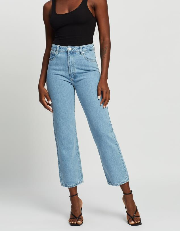 """ABrand A Venice straight jeans, $80. **[Buy them online via The Iconic here](https://www.theiconic.com.au/a-venice-straight-jeans-1103315.html