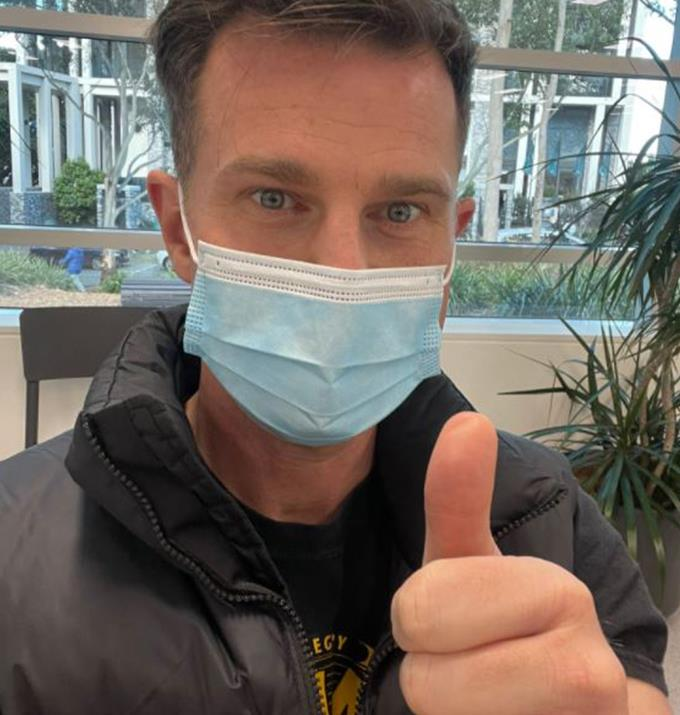 """**David Campbell** <br><br>  David is fully vaccinated after receiving his second shot of Pfizer on what he dubbed """"Pfizer Pfriday."""" <br><br> A day after getting his shot he updated his fans on how he is feeling. <br><br> """"Ok Pfizer friends. I am nearly 24 hours out after dose #2. Some fatigue last night. Took nurofen. Today has been absolutely fine. Not sure any side affects will happen now. Anyone had the same?"""" David Tweeted."""
