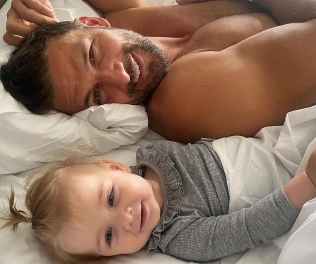 Like daddy, like daughter.