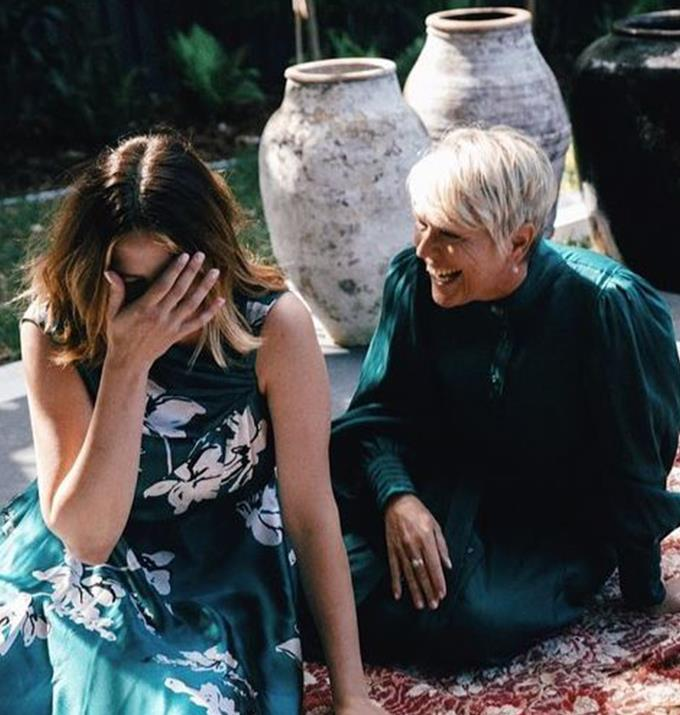 """Jesinta has spoken openly about how much her mum, Valerie, has helped inspire her, which has undoubtedly influenced her parenting style.  <br><br> My mum is my original influencer, the woman who taught me everything I know about beauty and beyond,"""" Jesinta began. <br><br> """"Throughout the years my rituals have been instilled by her; she knows a lot about true beauty and has taught me that is the way you hold yourself, the way you treat others, how you treat yourself, the way you love and how you give back. ❤"""""""