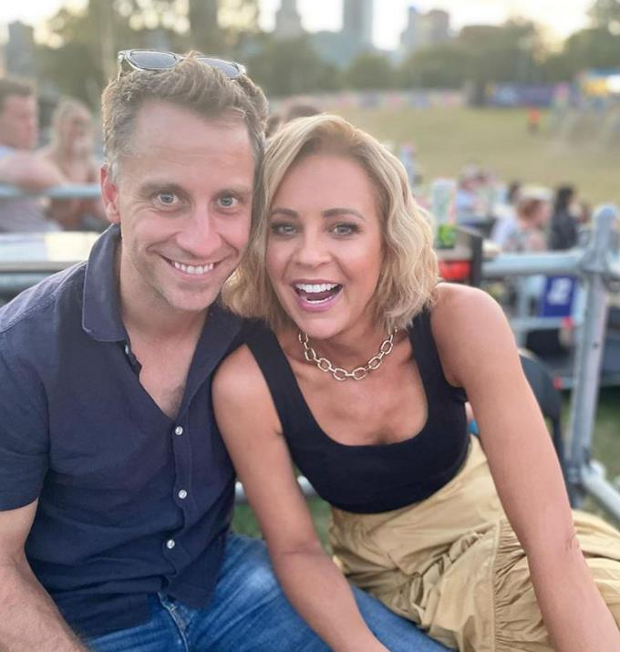 Carrie and Chris were enjoying their last summer night together before the brutal Melbourne winter.