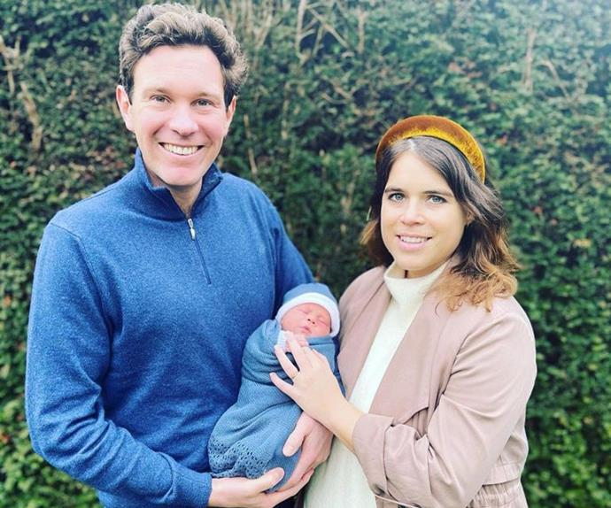 Eugenie and Jack are settling into life as new parents.
