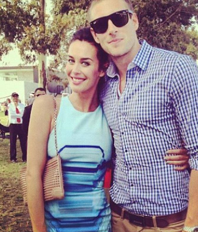 Megan and Shaun were enjoying a day at the polo a year into dating.