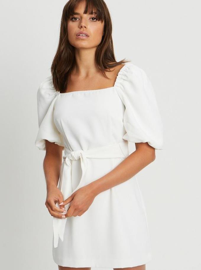 "The Iconic Tussah Jordan Mini Dress, $64.98 and you can [find it here.](https://www.theiconic.com.au/jordan-mini-dress-1228080.html|target=""_blank"")"