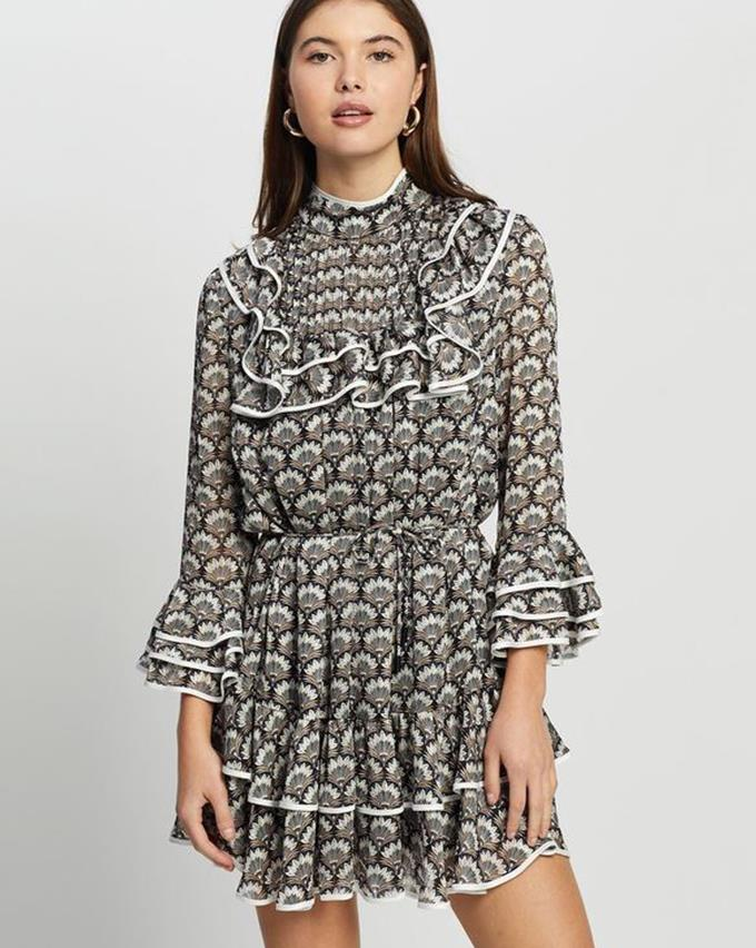 """The Iconic Elliatt Syrma Dress, $259.95 and you can [find it here.](https://www.theiconic.com.au/syrma-dress-1248690.html